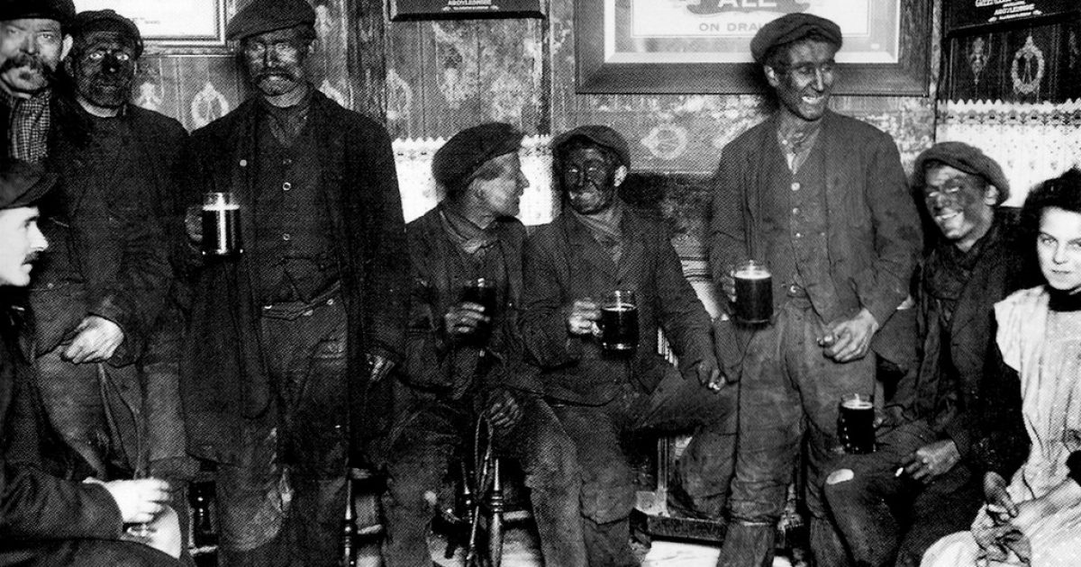 Crybaby: This Picture of Coal Miners Reminds Him of Black Face, So it Must Come Down