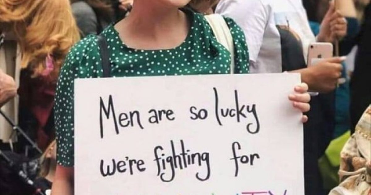 Men Are Supposed to be Lucky Women are Fighting For Equality & Not Revenge?