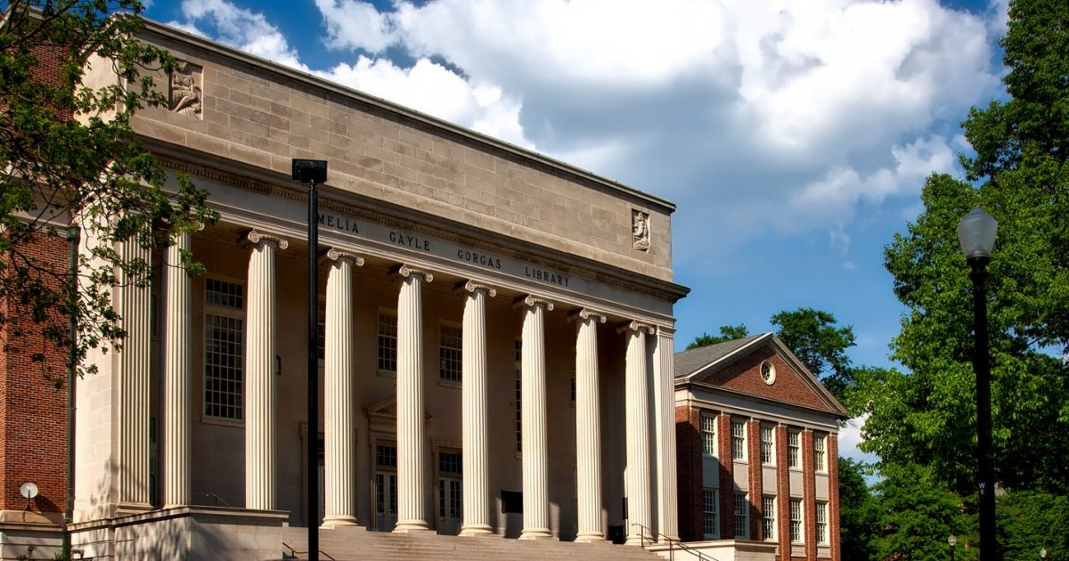 Columbia's Library Building Features The Names Of Male Authors; So They're Adding Unworthy Females