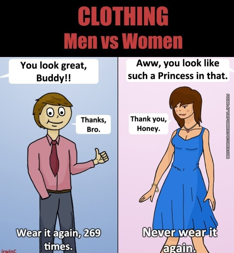 10 Memes That Show You the Difference Between Men and Women